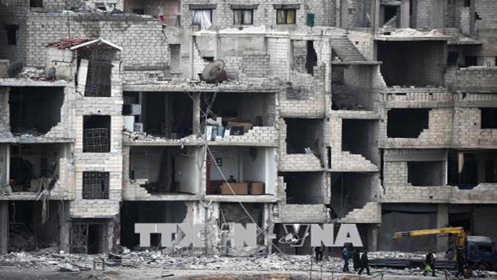 Syria khiếu nại lên Liên Hợp quốc hành động phi pháp của liên quân do Mỹ đứng đầu